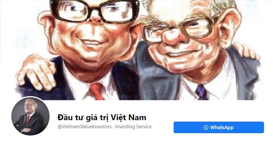 Gặp gỡ nhau ở FB Fanpage Đầu tư giá trị ViệtNam